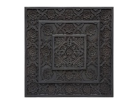 LivingStyles Indore Wooden Wall Art, 90cm, Charcoal