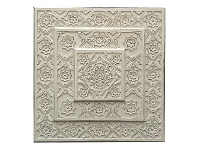 LivingStyles Indore Wooden Wall Art, 90cm, Ivory