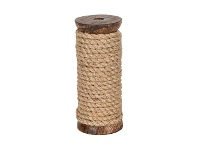 LivingStyles Dolerite Natural Fibre Ribbon Roll, 10 Meter