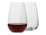 LivingStyles Ecology Classic Stemless Red Wine Glass, Set of 4