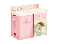 LivingStyles Worlds Apart Rose Petal Play Kitchen