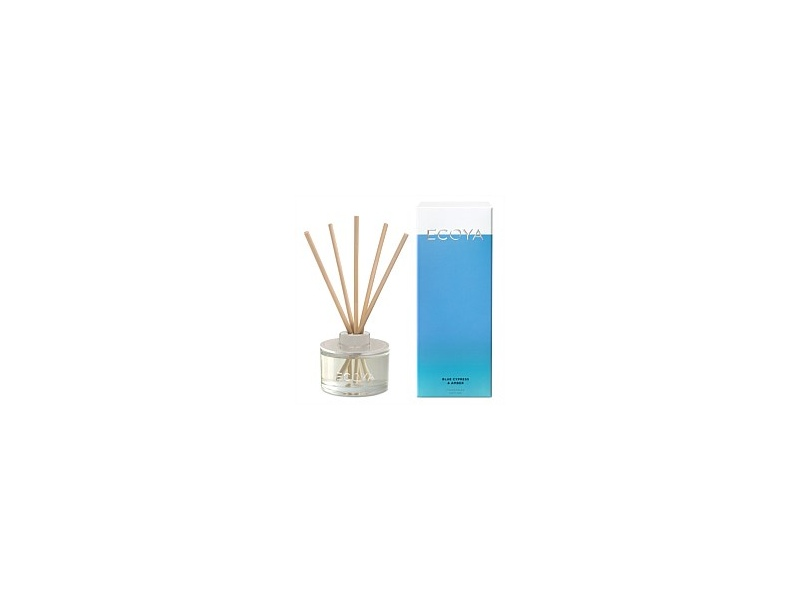 Ecoya Mini Diffuser Candle Blue Cypress & Amber 50ml
