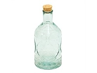 Living & Giving Toscana Recycled Glass Bottle 90x190mm