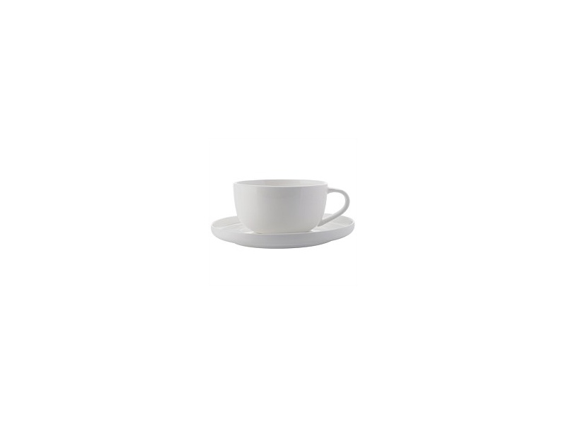 Maxwell & Williams Cashmere High Rim Demi Cup & Saucer 100ml