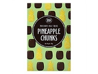 Living & Giving Pineapple Chunks Confectionary 100g