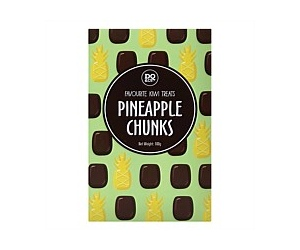 Pineapple Chunks Confectionary 100g