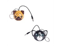 Living & Giving Domestic Pet Keychain Speakers Assorted