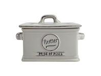 Living & Giving T&G Pride of Place Butter Dish Grey
