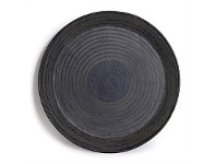 Living & Giving Nadee Black Round Tray 44cm