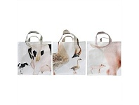 Living & Giving Pig Goose Cow Shopping Bags Assorted Designs