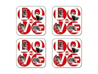 Living & Giving Love NZ Set Of 4 Coasters