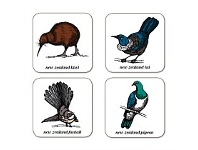 Living & Giving Native Birds Set Of 4 Coasters