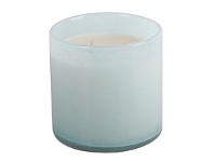 Living & Giving French Country Glass Candle Seafoam at Palm Beach