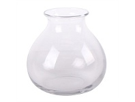 Living & Giving Oval Vase Clear 16cm