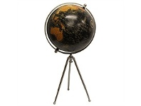 Living & Giving French Country Standing Globe on Tripod Large