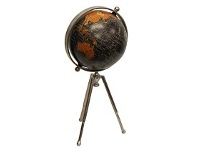 Living & Giving French Country Standing Globe on Tripod Small
