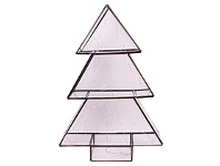 Living & Giving Light Up Glass Tree Christmas Decor Large