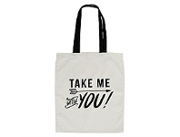 Living & Giving Annabel Trends Tote Bag Take Me With 45x40cm