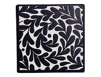 Living & Giving Annabel Trends Ceramic Coaster Set Leaves 9.35cm