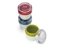 Living & Giving Joie On The Go Condiment Tubs Set of 3