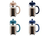 Living & Giving Bodum Colours Caffetiera Coffee Press Assorted 8 Cup