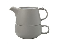 Living & Giving Maxwell & Williams Tea For One Teapot Grey 450ml