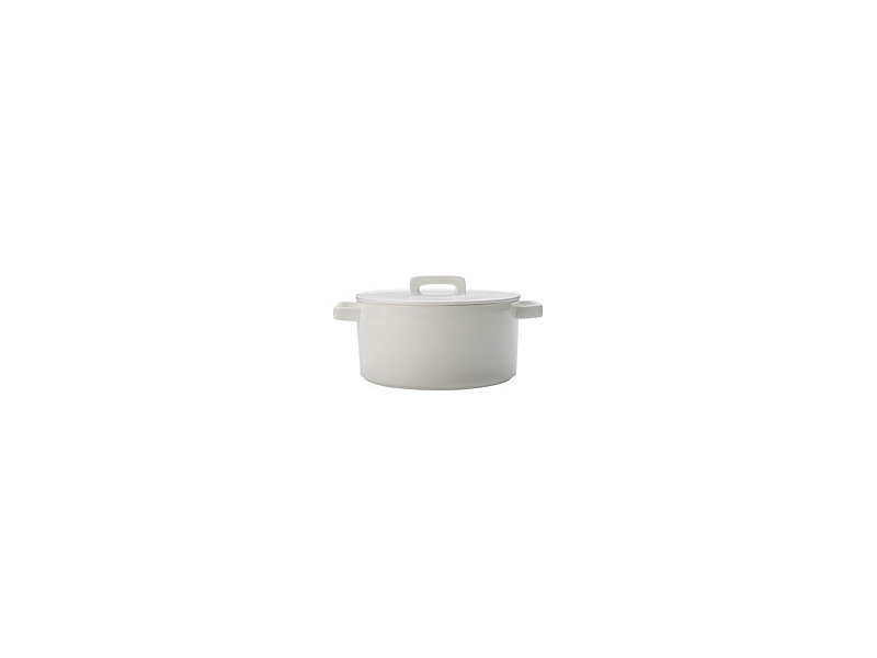 Maxwell&Williams Epicurious Round Casserole White 2.6L