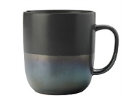 Living & Giving Maxwell & Williams Lune Mug Charcoal Lustre 400ml