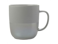 Living & Giving Maxwell & Williams Lune Mug Grey Lustre 400ml