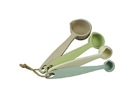 Living & Giving Zuperzozial Measuring Spoons Pastel Set of 4