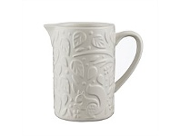 Living & Giving Mason Cash In The Forest Creamer Jug White 170ml