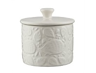 Living & Giving Mason Cash In The Forest Sugar Pot White 250ml