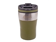 Living & Giving Oasis Cafe Stainless Steel Travel Cup Avocado 280ml