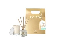 Living & Giving Ecoya LtdEd Xmas Mini Gift Set Lotus Flower