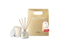 Living & Giving Ecoya LtdEd Xmas Mini Gift Set Guava & Lychee Sorbet
