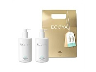 Living & Giving Ecoya LtdEd Xmas Body Gift Set Lotus Flower 450ml