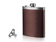 Living & Giving Vacu Vin Hip Flask & Funnel Set