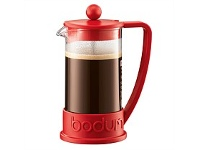 Living & Giving Bodum Kenya Red 3 Cup 350ml Coffee Plunger