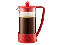 Living & Giving Bodum Kenya Red 8 Cup 1 Litre Coffee Plunger