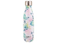 Living & Giving Oasis Stainless Steel Double Wall Drink Bottle Floral Lust 500ml