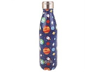 Living & Giving Oasis Stainless Steel Double Wall Drink Bottle Space 500ml