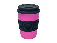 Living & Giving Annabel Trends BYO Coffee Cup Pink 350ml