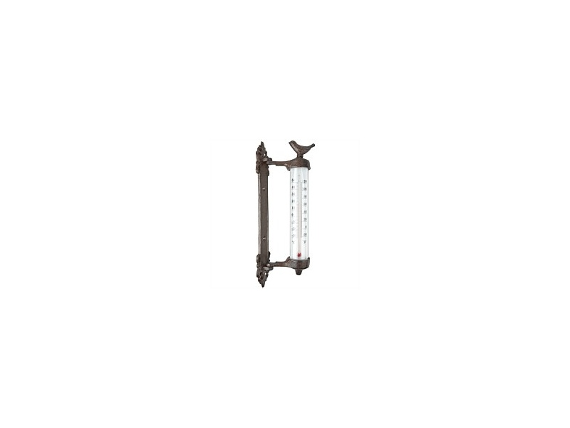 Outdoor Bird Wall Thermometer 5x9x27cm
