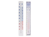 Living & Giving Outdoor Giant Thermometer on Wall Plate 12x2x90cm