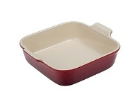 Living & Giving Le Creuset Heritage Square Dish Cerise 23cm