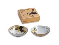 Living & Giving Rosanna Farm to Table Dipping Dish Set of 2 Olives 11.5cm