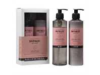 Living & Giving The Aromatherapy Co Smith & Co Wash & Lotion Pump Pack Elderflower & Lychee 400ml