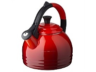 Living & Giving Le Creuset Cast Iron Kettle Peruh Red 1.8L