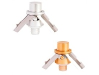 Living & Giving Pump It Up Champagne Stopper Assorted