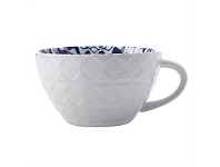 Living & Giving Maxwell & Williams Alhambra Soup Mug Blue & Green 540ml